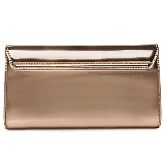 Borsa TRUSSARDI JEANS - Alba Puch Mirror 75B00928 Pink Gold M051 - Clutch e borse da sera - Borse