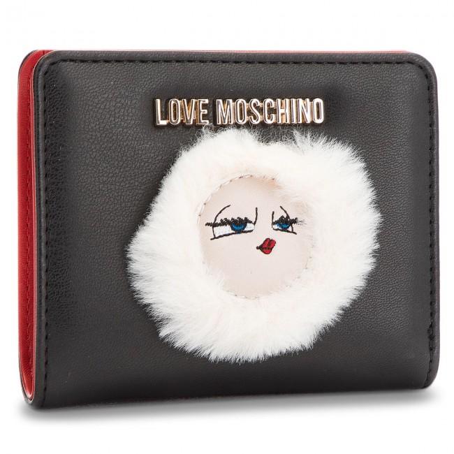 6ddc4177cc Portafoglio piccolo da donna LOVE MOSCHINO - JC5590PP06KJ0000 Nero ...