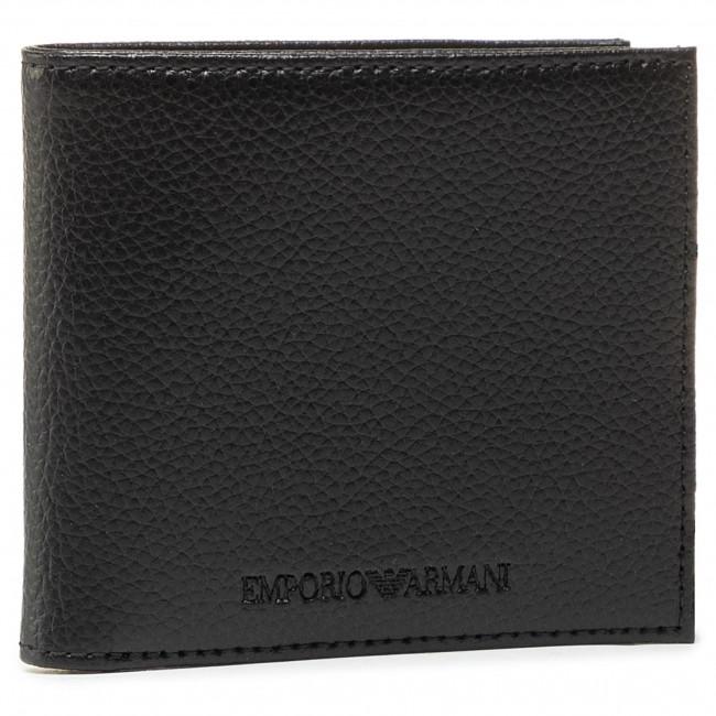 Portafoglio grande da uomo EMPORIO ARMANI - Y4R168 YEW1E 81072 Black