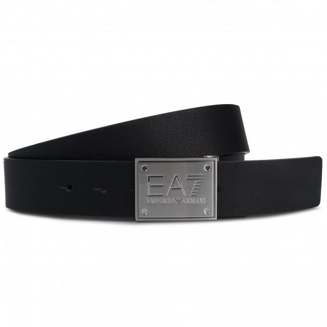 l'ultimo ab5fd 81756 Cintura da uomo EA7 EMPORIO ARMANI - 245524 8A693 71720 Black/Fudge