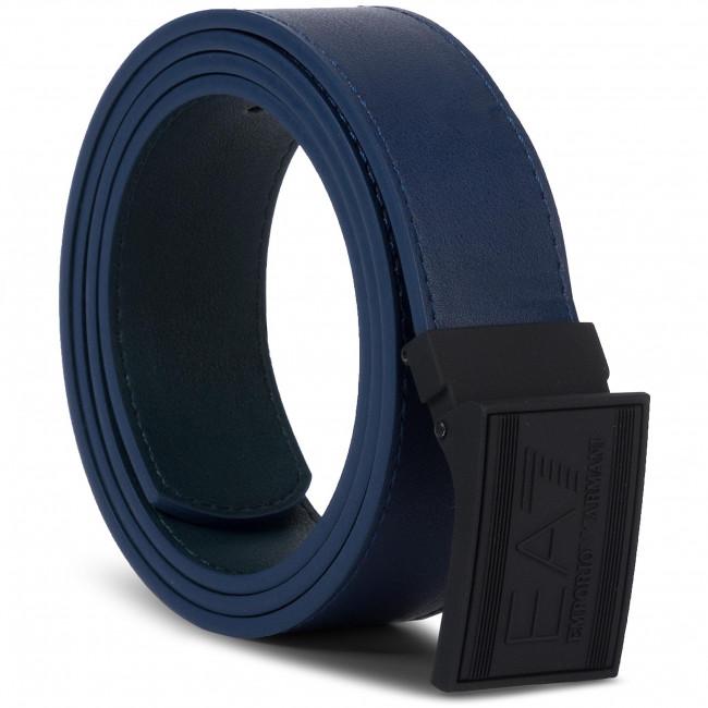fama mondiale dettagli per il prezzo rimane stabile Cintura da uomo EA7 EMPORIO ARMANI - 245376 8A693 63735 Blu Navy/Scarab
