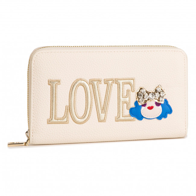 Portafogli Da Moschino Grande Donna Per Love Avorio Jc5651pp07kh0110 Portafoglio Accessori Pelletteria hdtsQr
