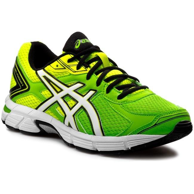 Scarpe ASICS Gel Pursuit 2 T4C4N Flash GreenWhiteFlash Yellow 8501