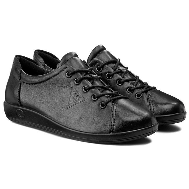 Scarpe basse ECCO - Soft 2.0 20650356723 Black With Black Sole - Basse - Scarpe basse - Donna