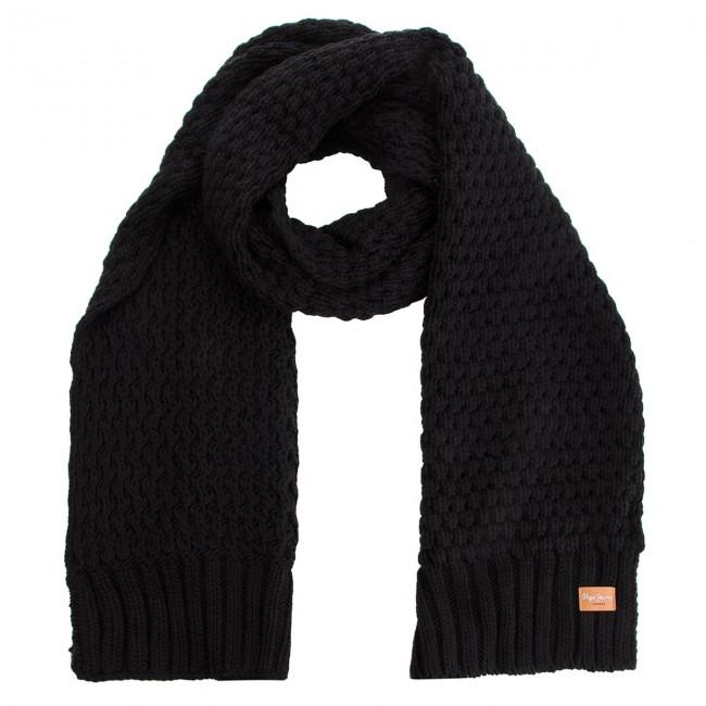 d41a460f2d1bd Sciarpa PEPE JEANS - Elma Scarf PL060153 Black 999 - Sciarpe & Foulard -  Accessori tessili - Accessori - escarpe.it