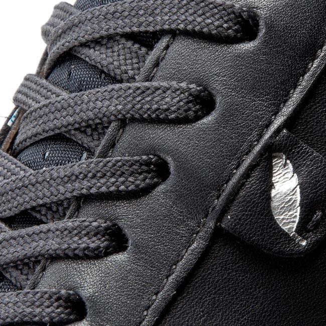 GEOX sukie black Shoes sneaker woman fashion D54F2B