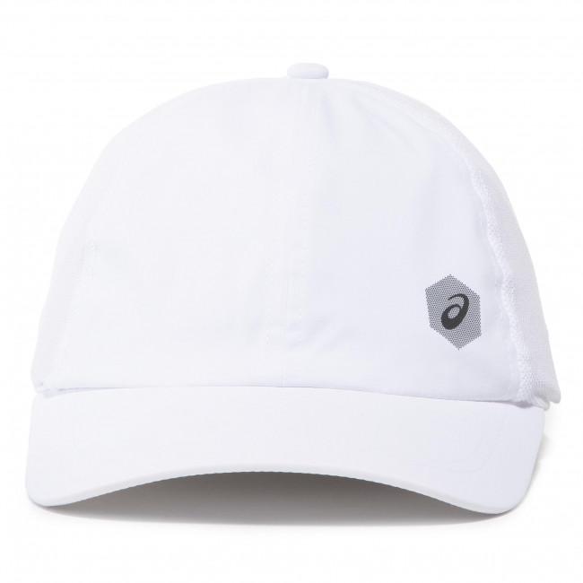 Cappello con visiera ASICS - Essential Cap 155007 Brillant White 0904 - Donna - Cappelli - Accessori tessili - Accessori