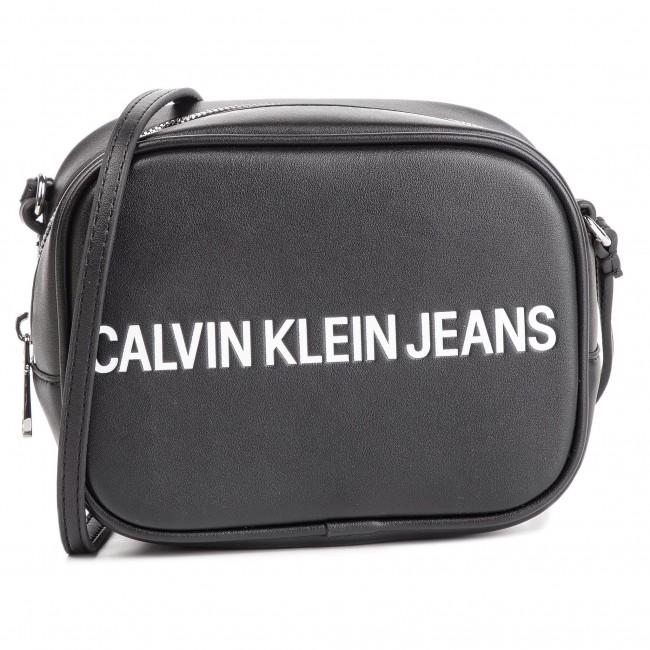 Calvin Klein Jeans Sculpted Monogram Camera Bag Nero Donna
