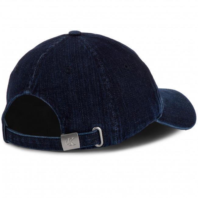 Cappello con visiera CALVIN KLEIN JEANS - J Monogram Denim Cap M K50K504880 910 - Donna - Cappelli - Accessori tessili - Accessori