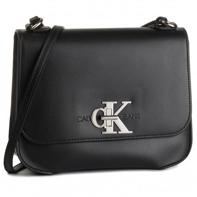 Borsa Calvin Hw Ckj Borse Flap A Jeans Bds Med Klein Monogram Tracolla K60k605786 Ygbf76Ivy