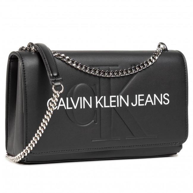 Borsetta CALVIN KLEIN JEANS - Convertible Ew Flap K60K607198 BLK