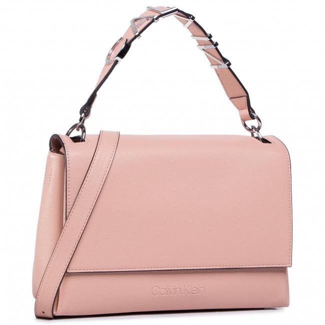 Borsetta CALVIN KLEIN - Flap Shoulder Bag Md K60K607041 PNK