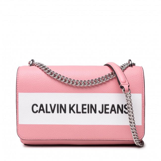 Borsetta CALVIN KLEIN JEANS - Ew Flap Convertible K60K608562  Soft Berry TIV