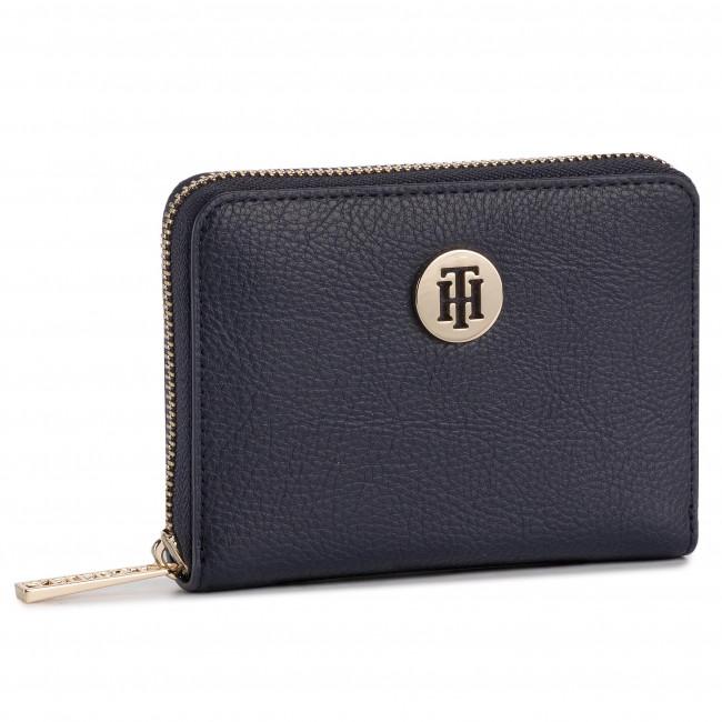 Portafoglio grande da donna TOMMY HILFIGER Th Core Compact Za Wallet AW0AW06846 413