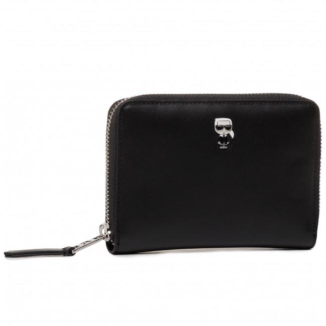 Portafoglio grande da donna KARL LAGERFELD - 201W3215  Black