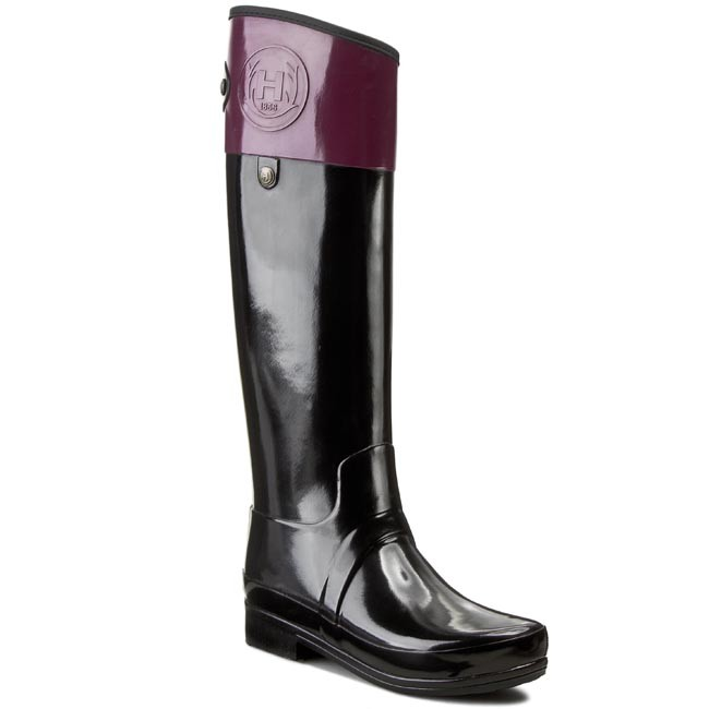 Wellington HUNTER - Sandhurst Caryle W25251 Black/Dark Ruby