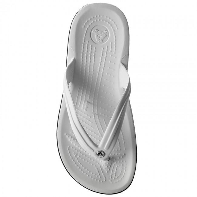 Crocs E Flip White Infradito 11033 Donna Ciabatte Crocband Sandali 5AL3R4j