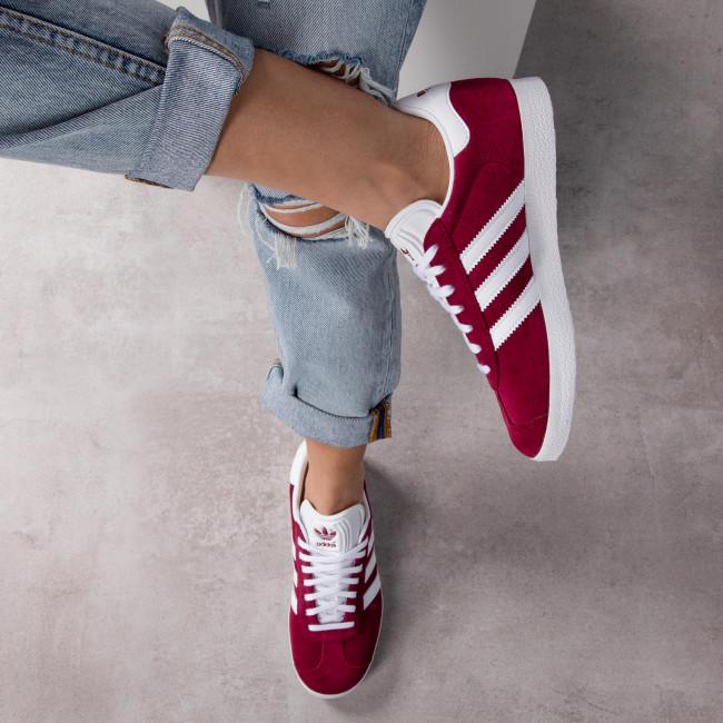 Scarpe adidas - Gazelle B41645 Cburgu/Ftwwht/Ftwwht - Sneakers - Scarpe basse - Donna