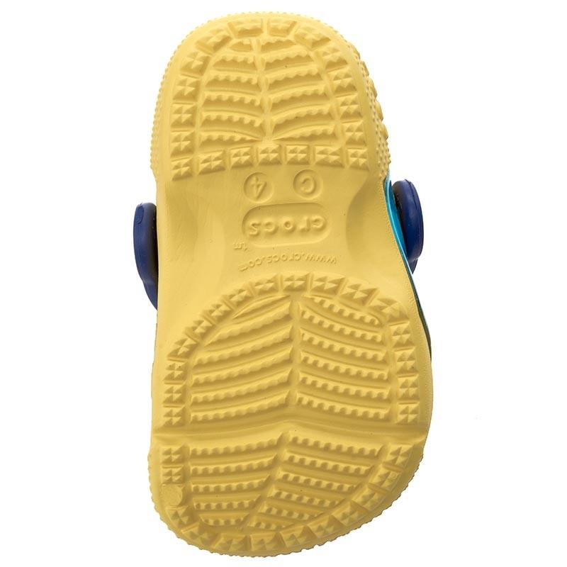 Ciabatte CROCS - Crocsfunlab Dory 204453 Lemon bU3Am