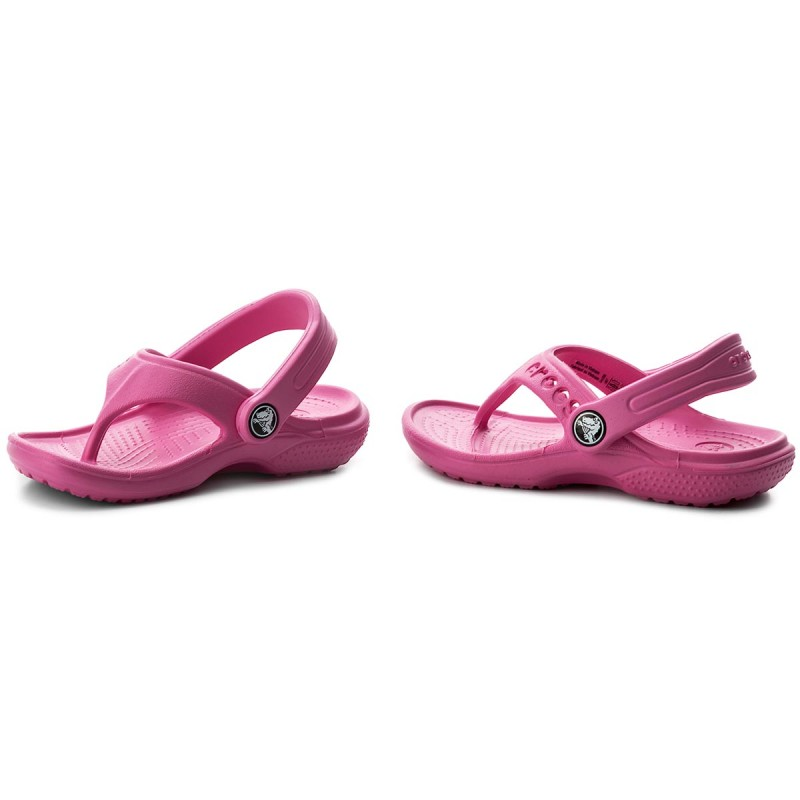Infradito CROCS - Baya Flip Kids 12066 Neon Magenta mjJwKy