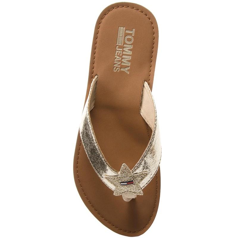 Navegar Descuento Infradito TOMMY JEANS - Glitter Beach Sandal EN0EN00065 Midnight 403 Fechas De Lanzamiento De Salida Edición Limitada Precio Barato 9c40D