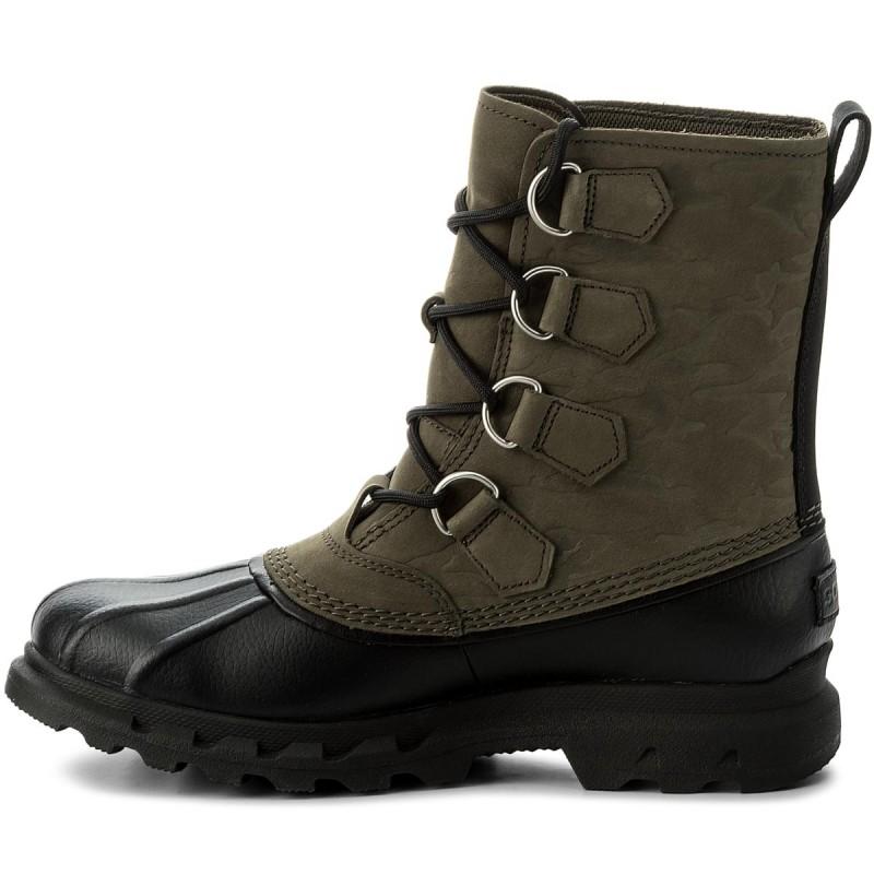 Stivali da neve CROCS - Allcast II Boot M 203394 Wheat/Black Compra Barato Comprar Barato Original Toma El Precio Barato Nuevo De Salida Con Mastercard CJzpz5h