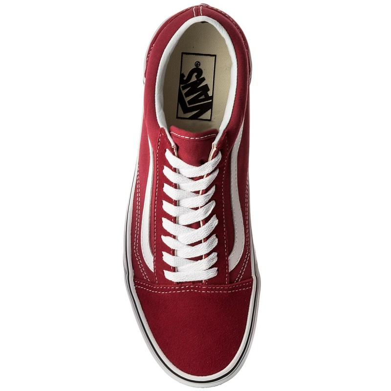 Scarpe sportive VANS - Old Skool VN0A38G1Q9U Crimson/True White