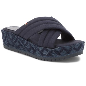 15a75a5480 Sneakers TOMMY HILFIGER - Tommy Jacquard City Sneaker FW0FW04026 Rwb ...
