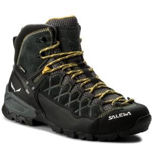 Scarpe da trekking SALEWA - Alp Trainer Mid Gtx GORE-TEX 63432-0766 Carbon 1283d7fb58f