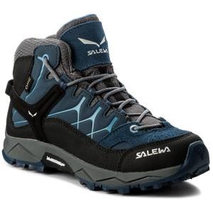 Scarpe da trekking SALEWA - Alp Trainer Mid Gtx GORE-TEX 64006-0365 Dark 84c887e9e9f