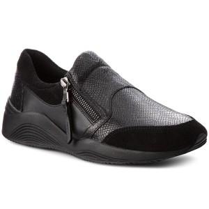 meet 33948 a2a55 Sneakers GEOX D Omaya A D620SA 09D22 C9997 Black