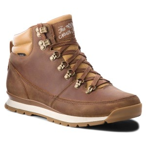 Scarponcini THE NORTH FACE Back-To-Berkeley Redux Leather T0CDL05WD Dijon  Brown Tagum Brown 324bc0c6181