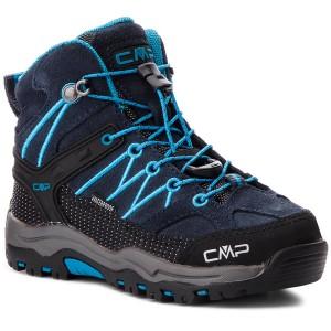 Scarpe da trekking CMP - Kids Rigel Mid Trekking Shoes Wp 3Q12944  Asphalt Cyano 92BH 0b2479e9925