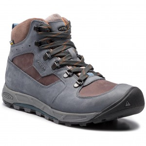 Scarpe da trekking KEEN - Westward Mid Leather Wp 1020156 Dark Slate Grey  Flannel 16c2c7cced8