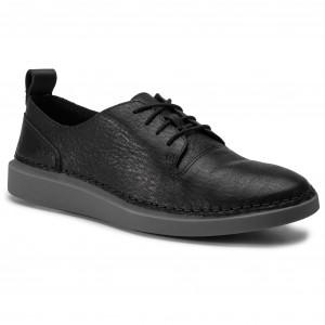 Clarks 261396954 Scarpe Basse Un Leather Lace Black Coral 54LRjA