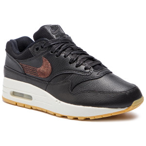 pretty nice bf629 4ea90 Scarpe NIKE - Air Max 1 Prm 454746 020 Black Black Gum Yellow