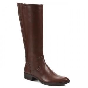 Stivali al ginocchio GEOX - D Mendi ST. A D2490A 00043 C6004 Marrone -  Stivali - Stivali e altri - Donna - www.escarpe.it 167668eae56