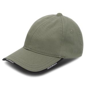 Cappello con visiera EMPORIO ARMANI - 627502 8A552 00084 Military Green 7c20e58f6ae2