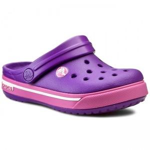 Ciabatte CROCS - Crocband II.5 Clog Kids 12837 Neon Purple Neon Magenta d491ce195f2