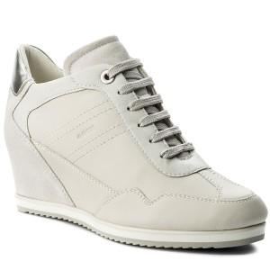 Sneakers GEOX D Nydame A D620QA 0VI22 C9267 LeadGrey
