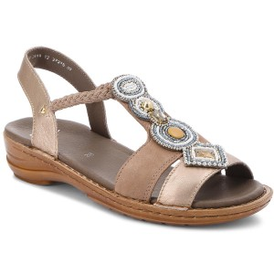 Sandali ARA - 12-37016-06 Dusty Metallic H8Uscy