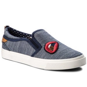 Sneakers Estate blu con allacciatura elasticizzata per bambini Wrangler d0sPYJM