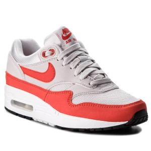 hot sale online d55ba d2654 Scarpe NIKE Air Max 1 319986 035 Vast Grey Habanero Red