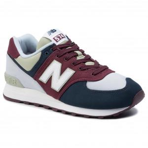 4qc5rl3jas Scarpe Basse Balance Ml574wne Sneakers New Nero 35c4ARjqSL
