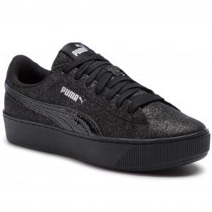 PUMA VIKKY PLATFORM Glitz Nero Donna Scarpe Sportive Sneakers 366856 05 2019