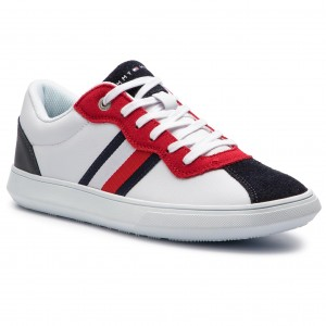 79801c69c7 Sneakers TOMMY HILFIGER Essential Corporate Cupsole FM0FM01982 Rwb 020
