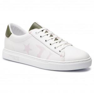 London Bianco Beat Crime 25150pp1 10 Sneakers Scarpe jc5RLq4A3S