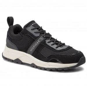 Sneakers TOMMY HILFIGER FM0FM02027 Black 990 3f6b2f81e7