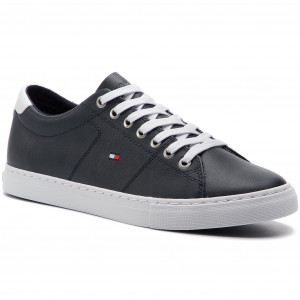 37763821498139 Sneakers TOMMY HILFIGER Essential Leather Sneaker FM0FM02203 Midnight 403