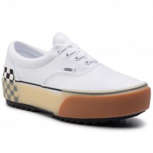 Scarpe sportive VANS Old Skool Platfor VN0A3B3UHRK1 (Checkerboard) BlkTr Wht